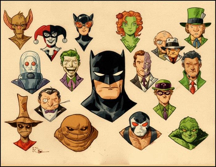 Evan Doc Shaner - Batman et ses ennemis