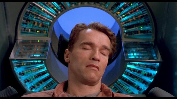 Total Recall-Arnold Schwarzenegger-Douglas Quaid
