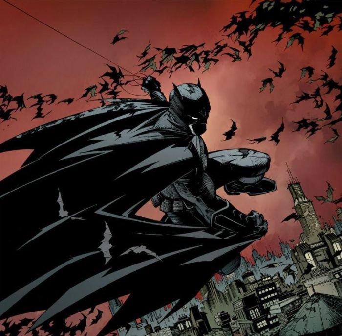 Jouant sur les ombres et les couleurs, Greg Capullo donne un style bien à lui à l'univers de Batman