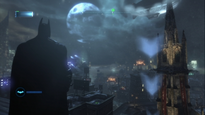 Avec tout le quartier d'Arkham City, Batman a une sacrée aire de jeu