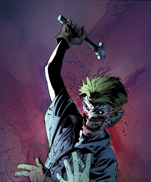 Le Joker, toujours aussi barge