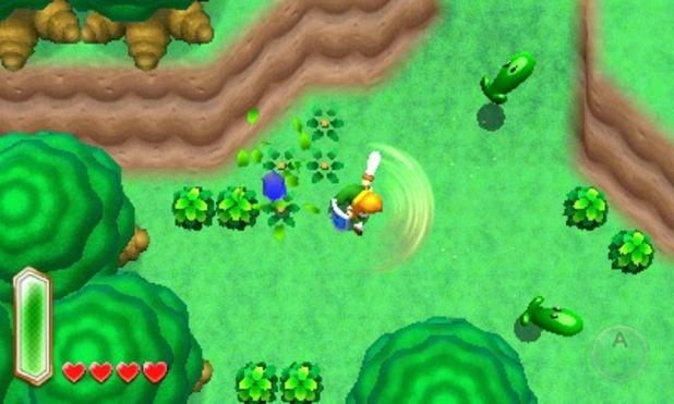 Le design original de ce jeu rappelle le côté cartoon d'A Link to the Past