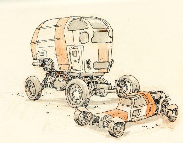 Desert Wheels