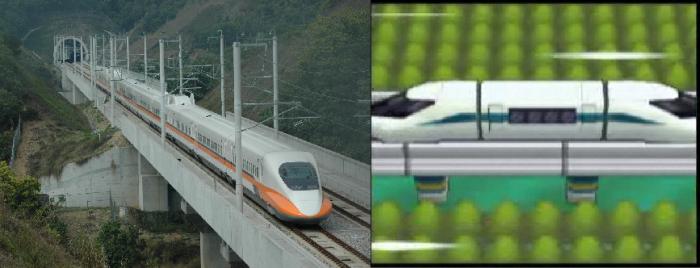 Shinkansen/Train Magnet : même combat