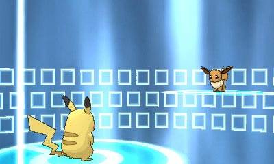 Exemple d'échange dans Pokémon X et Y