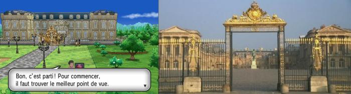 Chaydeuvre et Versailles en face à face
