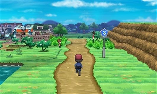 La Route 3, dégagée de tout aménagement, et la ville au loin