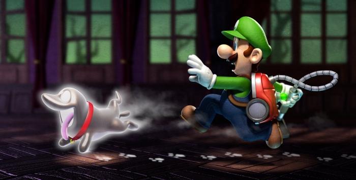 L'Ectochien devient la mascotte de Luigi's Mansion 2