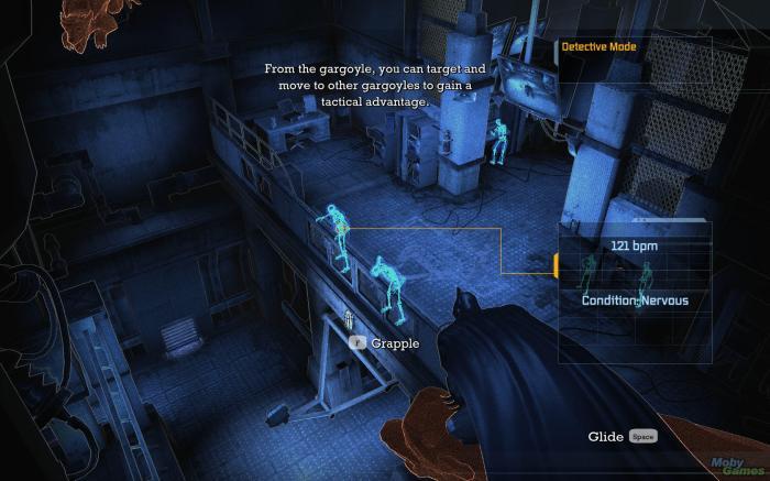 Le mode détective, une des éléments de gameplay fondateurs de la série de jeux Arkham