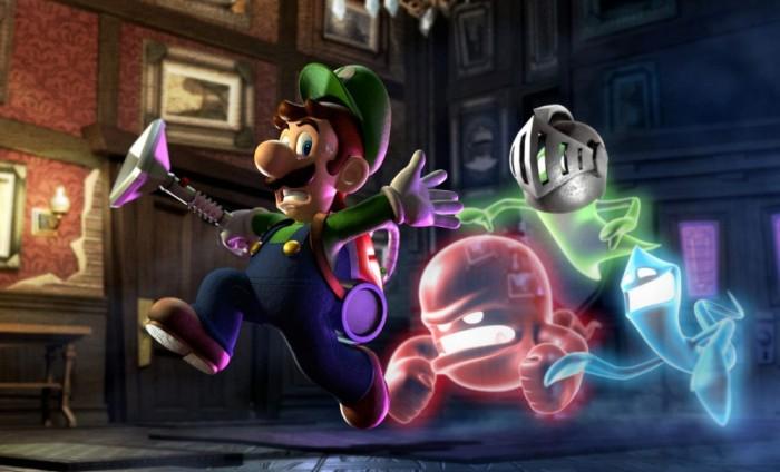 Luigi est un héros mais il reste quand même un gros pétochard