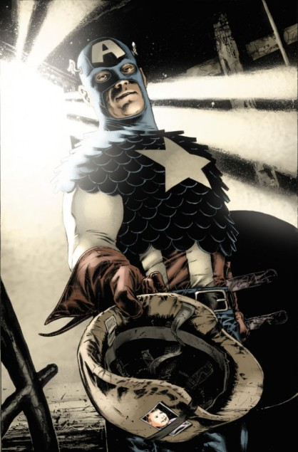 Le dessin de Mitch Breitweiser se pose dans le prolongement de la symbolique du Captain que développe David Morrell