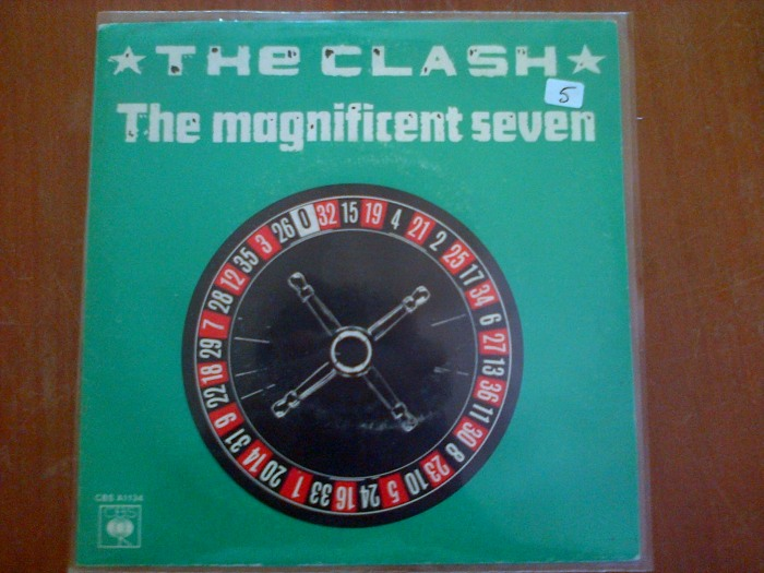 Single des Clash : The Magnificent Seven et The Magnificent Dance