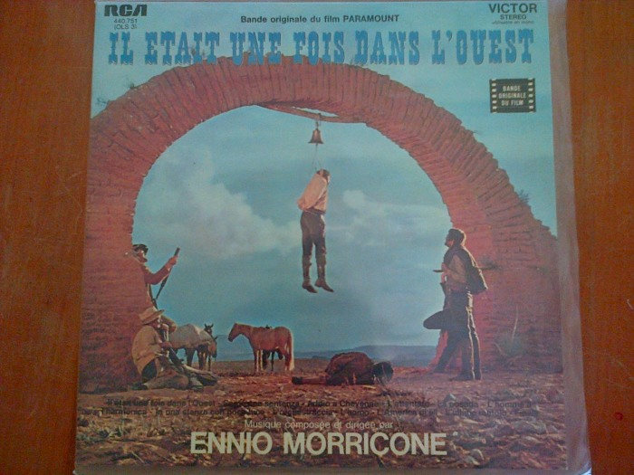 Bande originale du film Il Etait une Fois dans l'Ouest par Ennio Morricone