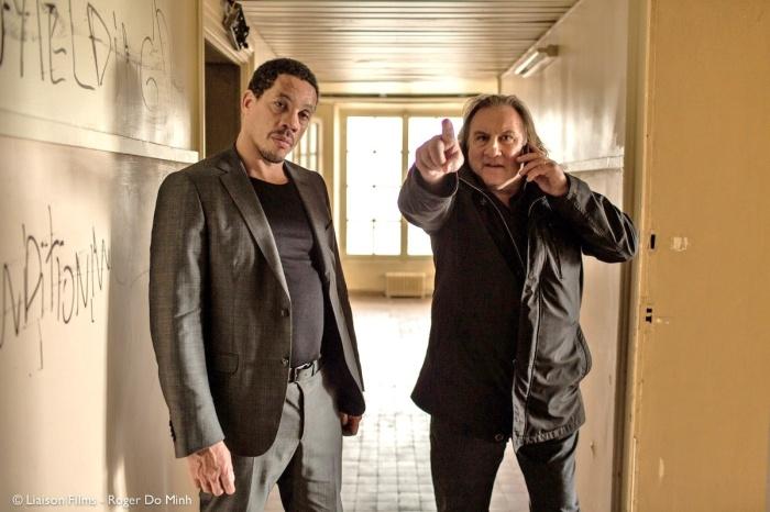 Joey Starr et Gérard Depardieu incarnent respectivement Franck Salek et Lionel Kasdan