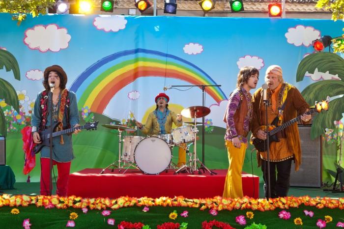 Les Beatles constituent LA référence pop du film. Un catalogue plus varié aurait été le bienvenu.