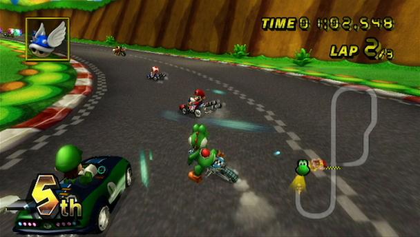 Dernier opus sur console de salon avant Mario Kart 8, l'épisode Wii s'était montré relativement décevant