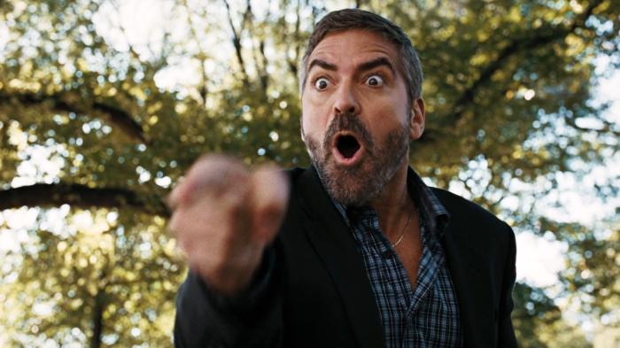En fait, je crois que je n'ai jamais autant aimé voir jouer George Clooney