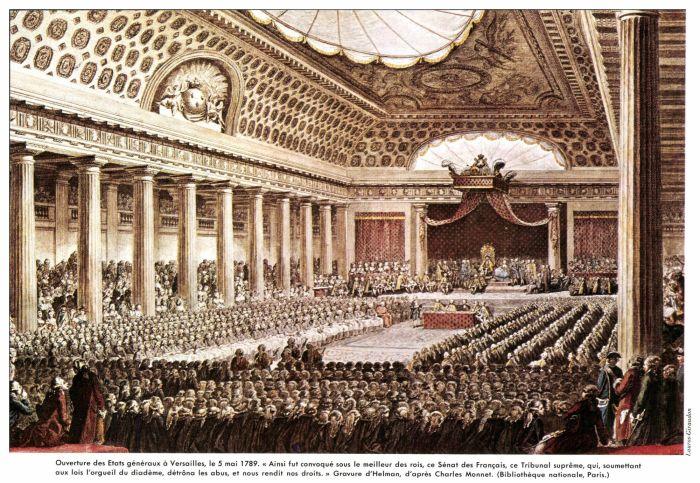 L'ouverture des Etats Généraux.