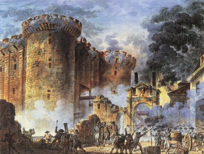 La Bastille sera ensuite détruite pierre après pierre et chacune sera revendue.