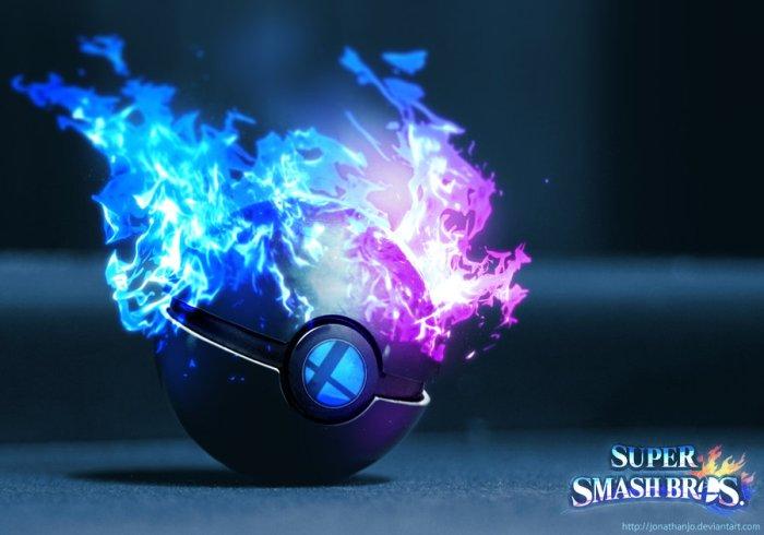 Super Smash Brother Pokeball