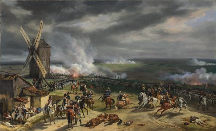La victoire à Valmy sera la première d'une série fructueuse pour les Révolutionnaires.