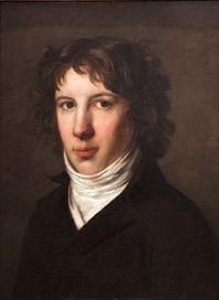 Portrait de Louis de Saint-Just par Pierre-Paul Prud'hon, Musée des Beaux Arts, Lyon.
