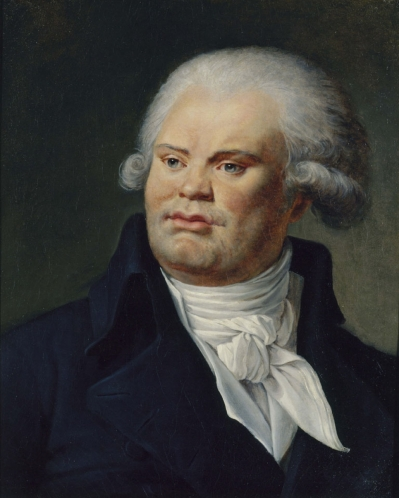 Portrait de Danton par Constance-Marie Charpentier, Musée Carnavalet, Paris