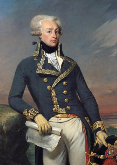 Portrait de La Fayette par Joseph-Désiré Court.