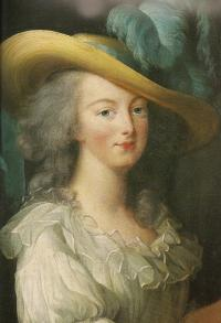 Portrait de Marie-Antoinette par Elisabeth Vigée-Lebrun.