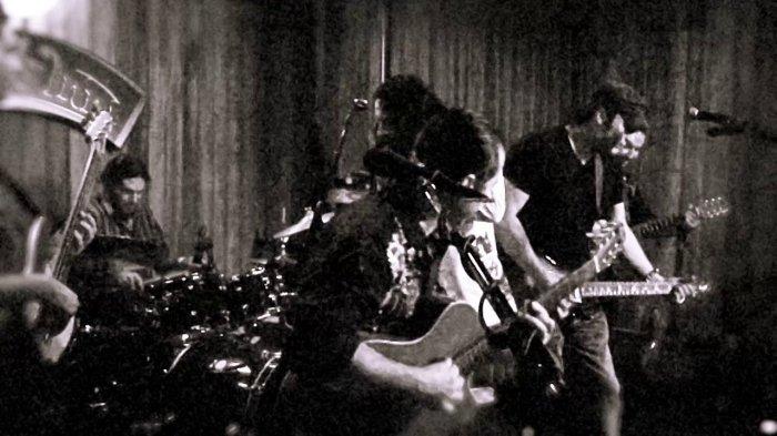 Robert Rodriguez on stage avec Chingón.