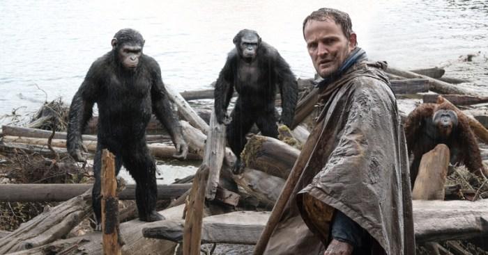 Les rapports qui se tissent entre César et Malcolm permettent de mettre en avant les difficultés d'une coexistence entre singes et humains.