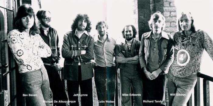 Electric Light Orchestra au complet, avec le nom des gars en plus !