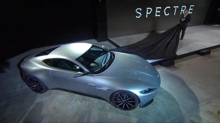 Sam Mendes a dévoilé lui-même le nouveau bolide de James Bond.