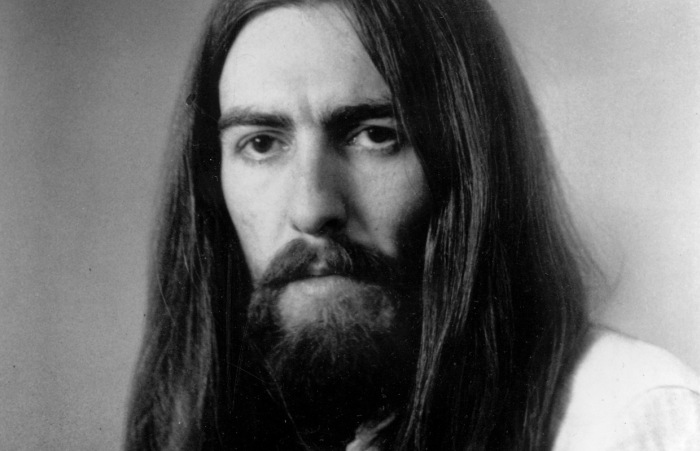 George Harrison à l'époque de All Things Must Pass.