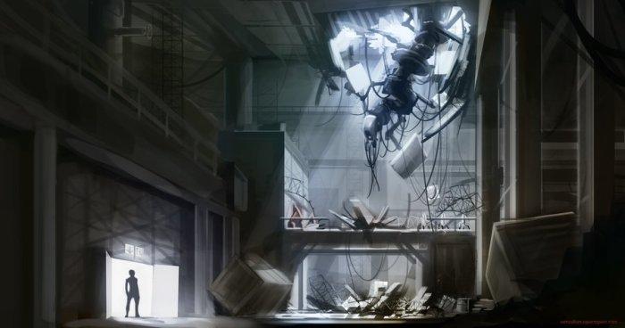 Portal 2 Environment Concept