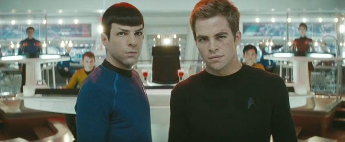 Reprendre le flambeau de Leonard Nimoy et William Shatner n'était pas une mince affaire.