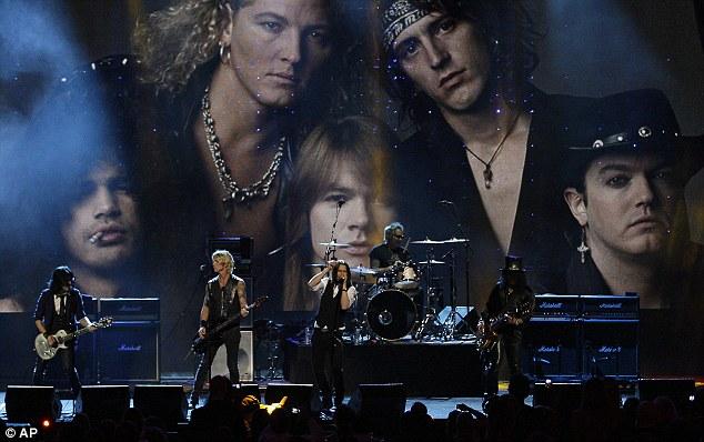 En 2012 les Guns originaux se sont réunis pour leur introduction au Rock'n'Roll Hall of Fame...sans Axl Rose.