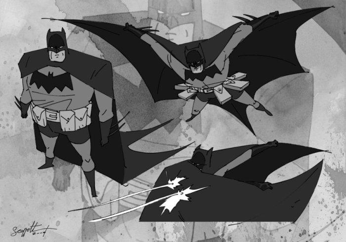 Batman Modelsheet