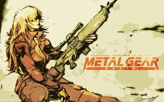 En me rappelant à Metal Gear Solid, j'ai d'abord pensé à Meryl. Puis Sniper Wolf s'est imposée comme une évidence.