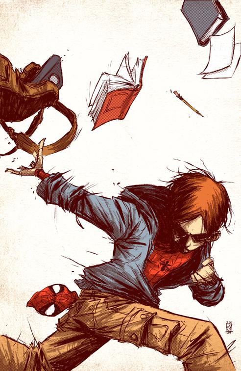 Marvel Adventurers Spiderman