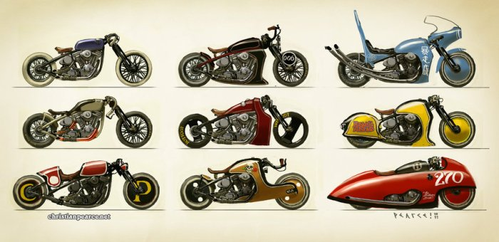 A Buncha Bikes