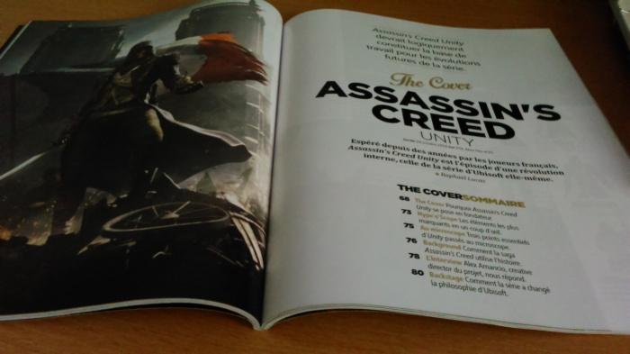 Les dossiers de Une font toujours l'objet d'un soin particulier et ce depuis le 1er numéro et ses 16 pages consacrées à Assassin's Creed - Unity.
