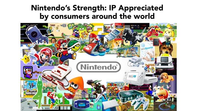 Les IP de Nintendo font sa force. Zelda, Mario et les autres feront toujours vendre des consoles Nintendo.