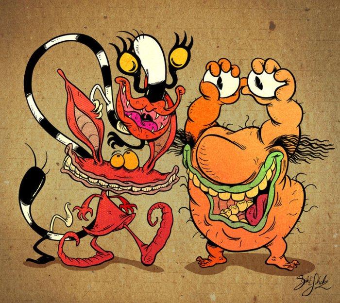 Aaaaaah, Real Monsters!