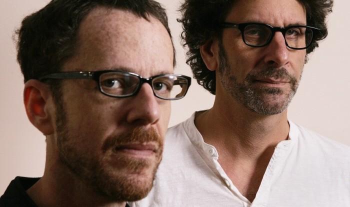"""Joel (à droite) et Ethan Coen (à gauche). Voilà qui répond à l'éternelle question : """"Mais c'est lequel Joen/Ethan ?"""""""