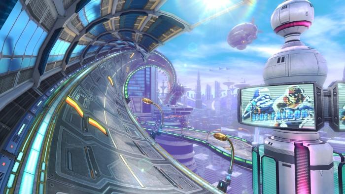 Mute City met F-Zero et par conséquent la vitesse à l'honneur.