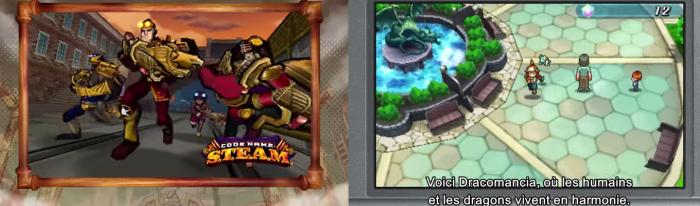 Codename S.T.E.A.M et Puzzles & Dragons Z pourraient bien donner un petit coup d'accélérateur aux ventes 3DS européennes.