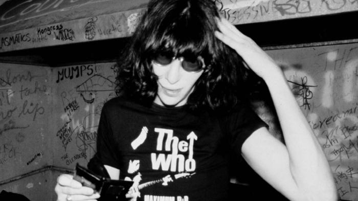 Joey Ramone dans les années 1970.