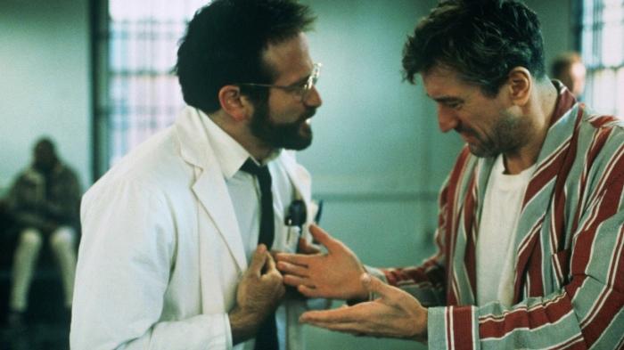 Robin Williams et Robert De Niro forment un tandem impeccable.