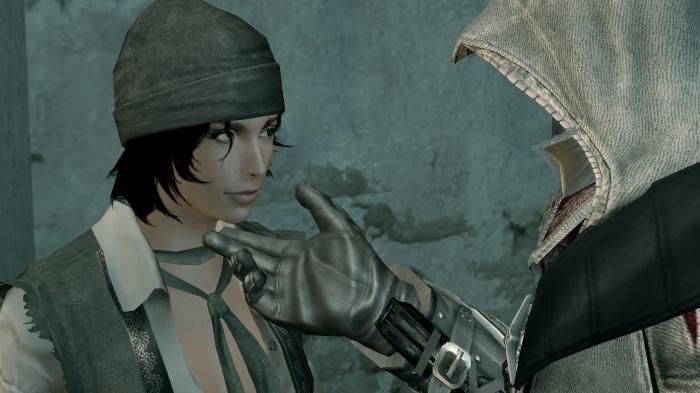 Il y en a clairement plus entre ces deux-là dans le roman que dans le jeu.